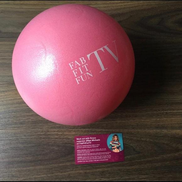 3 x FabFitFun TV Fitness Ball 3 Pack Jillian Michaels Fab Fit Fun LOT OF 3